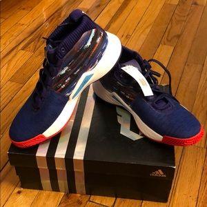 Adidas Dame 5 Shoes Purple 15